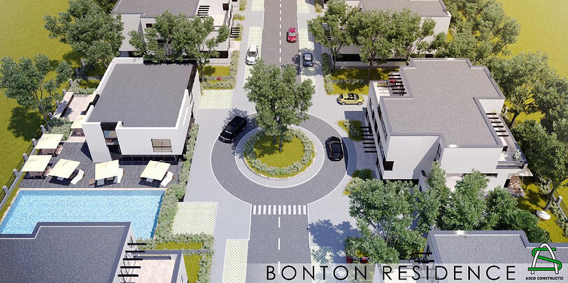 bonton luxury villas, complex rezidential pipera