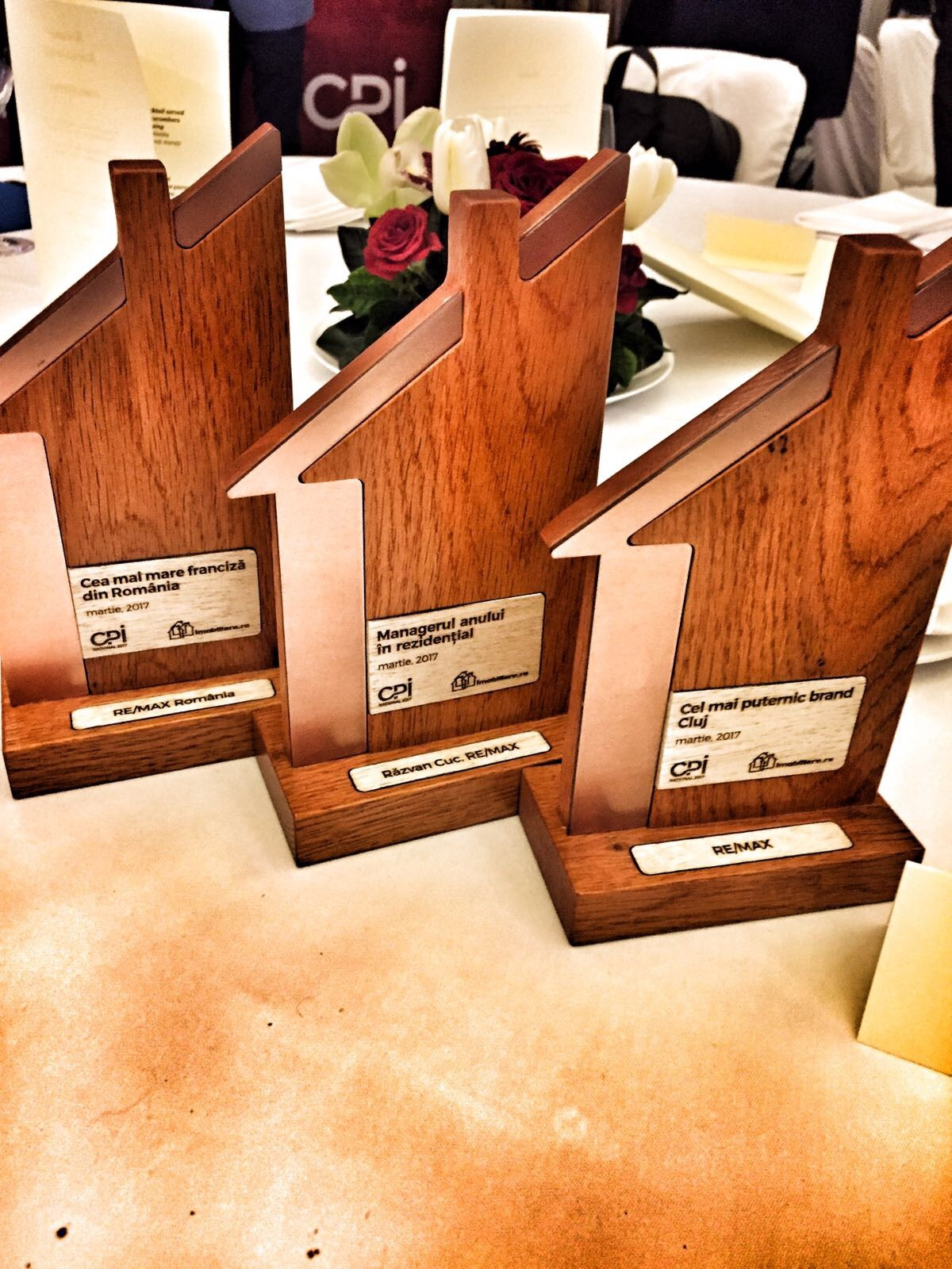 3 premii importante pentru RE/MAX România la Gala CPI Național 2017