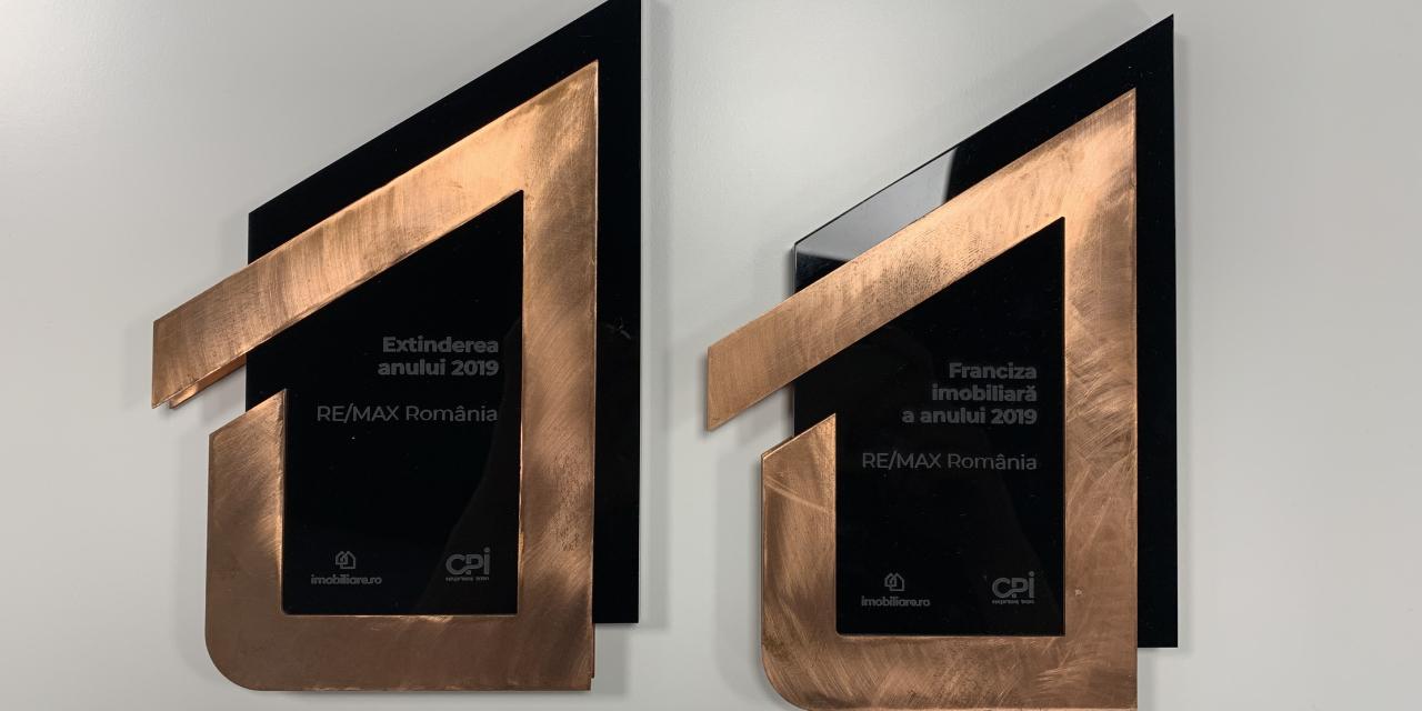 RE/MAX Romania, din nou pe podium cu 3 premii importante