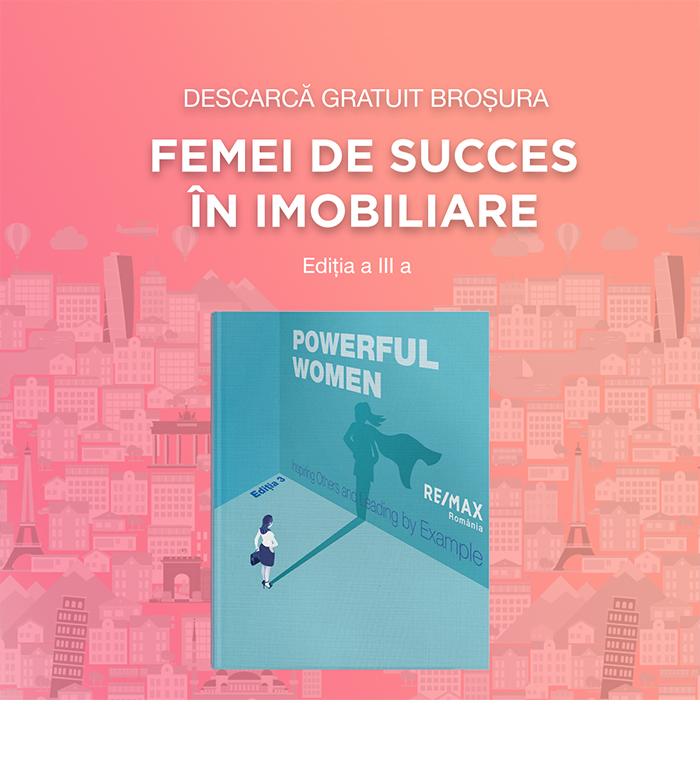 """Descarcă gratuit broșura """"Femei de succes in imobiliare"""""""