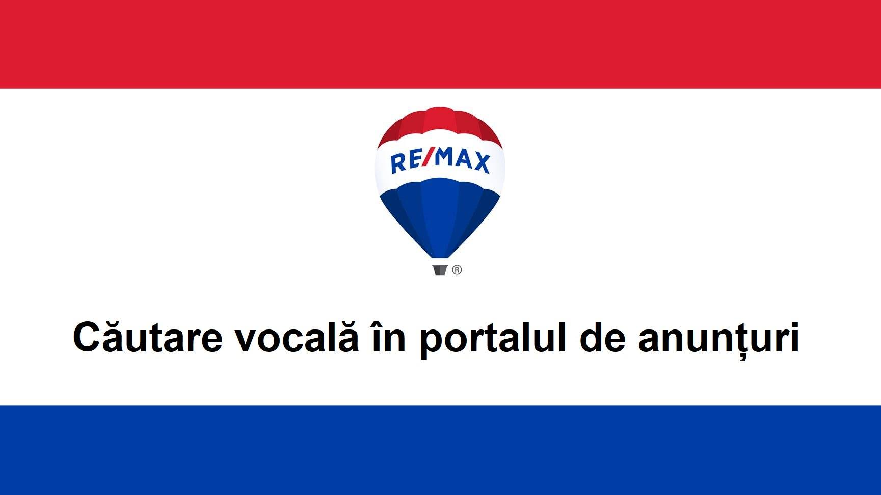 RE/MAX România lansează, în premieră, funcția de căutare vocală în portal